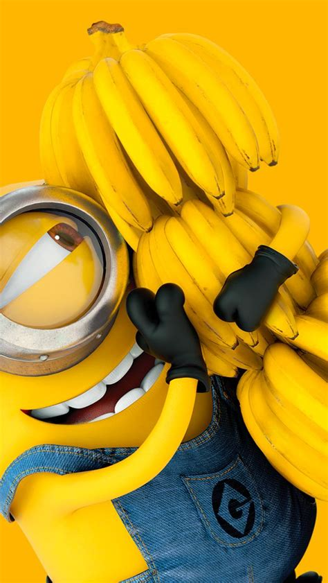 wallpaper banana for iphone the 25 best ideas about minion wallpaper iphone on