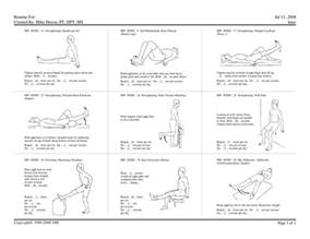 home exercise program lower extremity home exercise program pictures to pin on