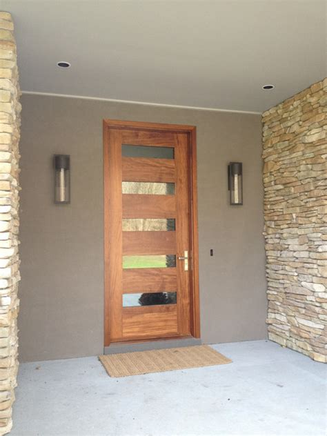 Modern Front Door Lights Borano Modern Doors Modern Entry Miami By Borano