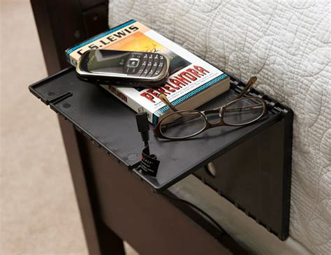 Folding Bedside Shelf by Instant Bedside Nightstand Shelf Craziest Gadgets