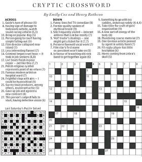 swing around crossword national post cryptic crossword forum saturday july 14