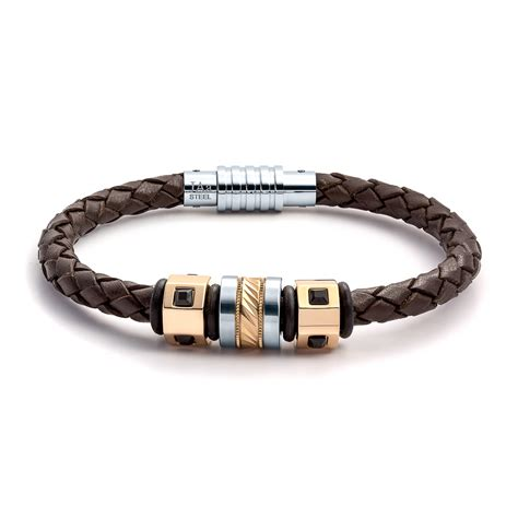 Aagaard Mens Jewelry Leather Bracelet No 1291   Landing Company