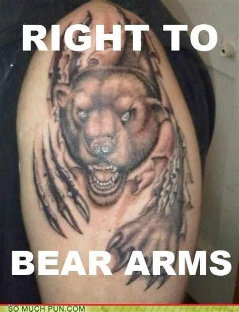 tattoo puns 15 incredibly clever puns arms guff