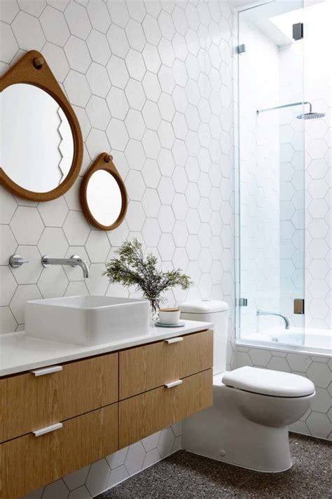 warm bathroom tiles 39 stylish hexagon tiles ideas for bathrooms digsdigs