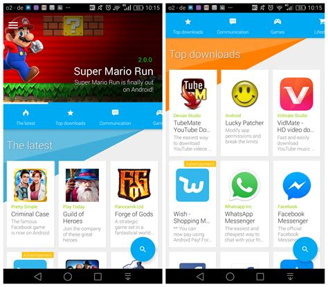 android app store alternative alternative app store uptodown launches its android client