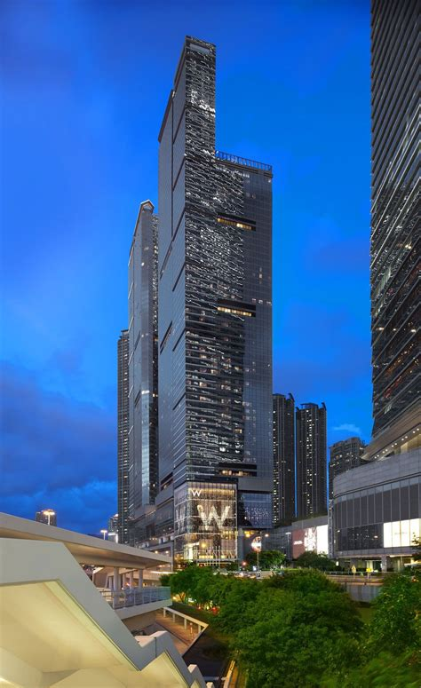 luxurious  hong kong hotel caandesign architecture