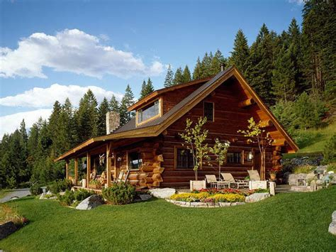 log house montana log home designs pioneer log homes plans for log