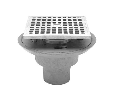 zurn mop sink drain assembly faucet com fd2254 nh2 s5 in cast iron by zurn
