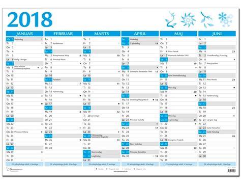 Kalender 2018 Helligdage Kalender 2018 Helligdage