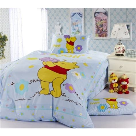 winnie the pooh bedroom sets disney winnie the pooh cartoon bedding sets for boys us 69