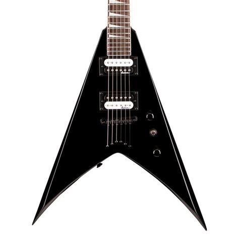 Gitar Jackson Vliying V 4 jackson js32t king v electric guitar gloss black at