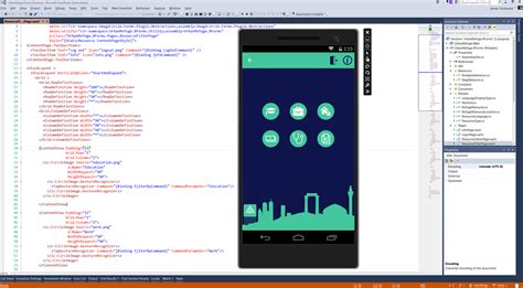 xamarin responsive layout building a xamarin app with urban refuge microsoft