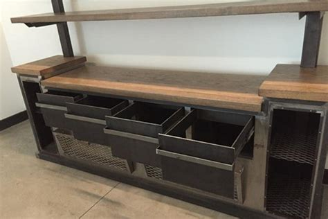 Office Credenza With Shelves modern industrial office credenza and shelving unit the industrial farmhouse