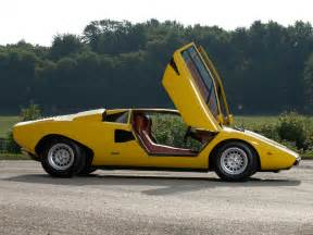 Lamborghini Countach Lp400 Lamborghini Countach Lp400 Uk Spec 1974 78