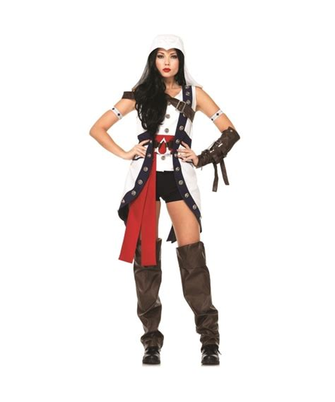 womens costumes assassin s creed connor womens costume theatrical
