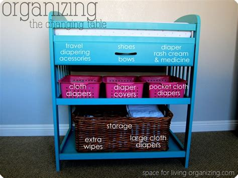 organize changing table baby on a budget budget breakdown space for living