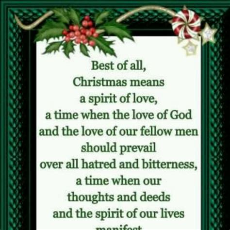 christmas means the spirit of love winter romance
