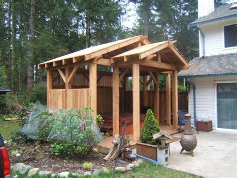 backyard enclosures hot tub enclosure backyard ideas pinterest tub
