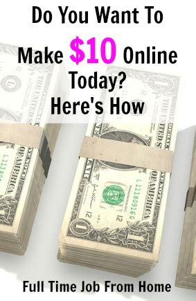 Make Money Online Today Free - 10 free sites that can make you money online today full time job from home