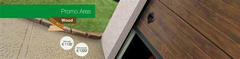 prezzi porte sezionali promozione portoni sezionali porte da garage porte