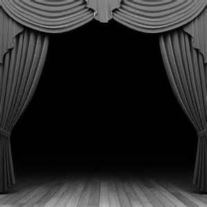 silver theater frames backgrounds for presentation ppt