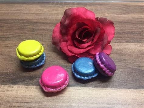 Diy Miniatur Macarons Herstellen Basteln Mit Und F 252 R