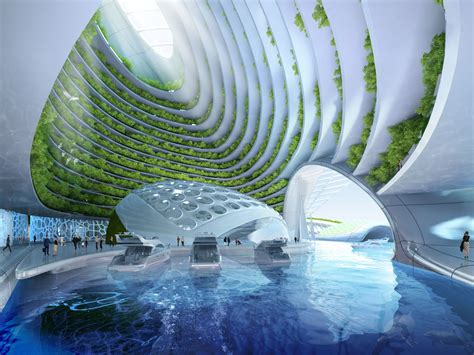 island decor with underwater tints serious wonder future underwater villages will take the