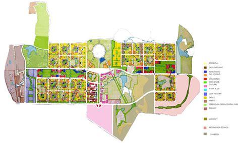 layout plan of naya raipur inti international new town institute