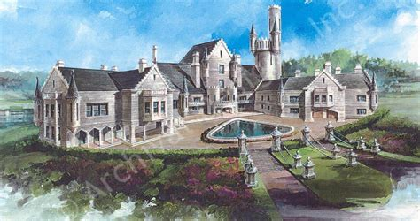 balmoral castle plans luxury home plans pools