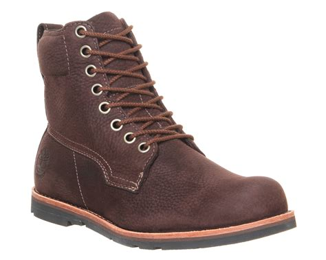 timberland rugged lt 6 inch boots in brown for lyst