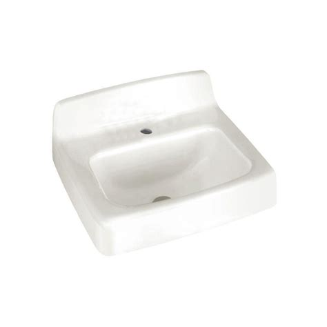 american standard bathroom sinks american standard lucerne wall mounted bathroom with