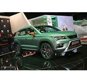 SEAT Announces 2017 Offensive In Paris New Ibiza Arona Crossover And