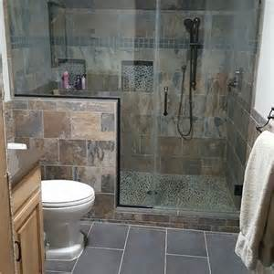 bathroom slate tile ideas 30 best images about small bathroom floor tile ideas on