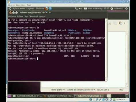 tutorial dansguardian ubuntu dansguardian videolike