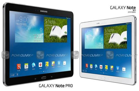Tablet Samsung Note Pro samsung galaxy tab quot pro quot models coming in 2014 liliputing
