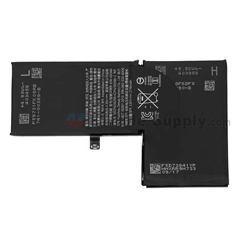 Iphone 0 Battery Apple Iphone X Battery Grade S Etrade Supply