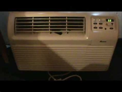 amana room air conditioner model ap125hd amana digital in wall air conditioner some fans