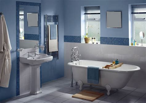 badezimmer dekorieren blau wohn tipp so wirken farben in wohnr 228 umen