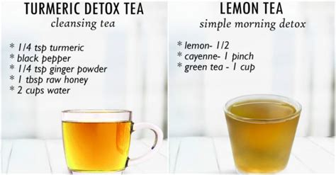 Healthy Skin Detox Tea by Detox Tea Recipes For Healthy And Skin How To
