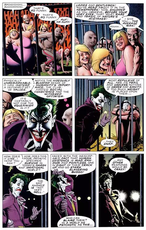 joker quotes   comic books quora