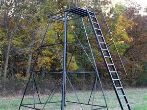 Elevated Deer Blinds Tower Stands