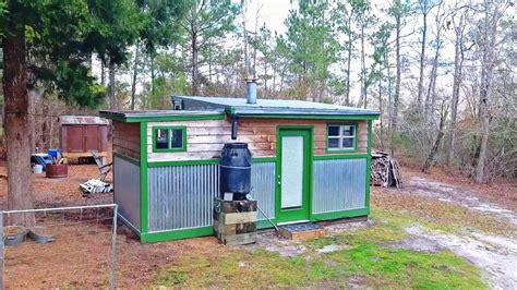 tiny house cost awesome completely off grid tiny house only cost 4 500 watch