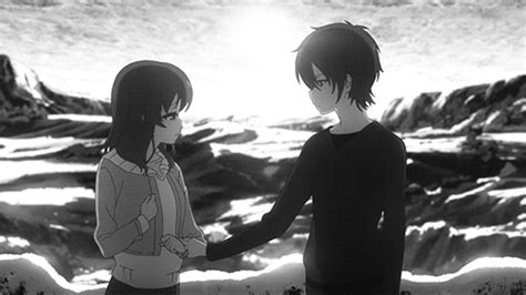 Anime Hug Gif by Hug Gif Find On Giphy