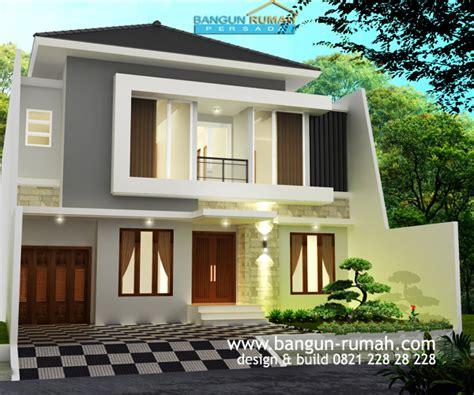 desain rumah nuansa putih desain rumah modern tropis di cempaka putih jakarta pusat