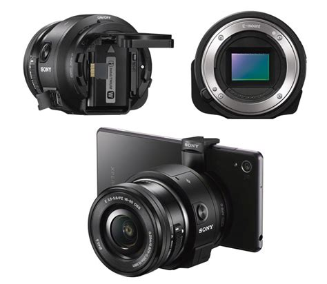 Sony Qx Sony Introduced Qx Series Lenses For Smartphones