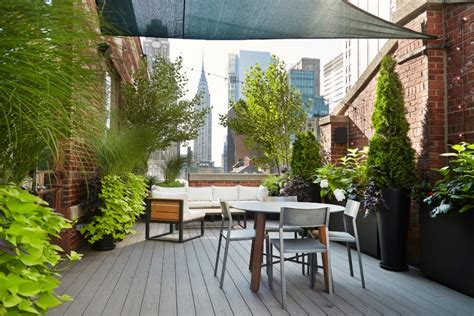 sichtschutz terrasse ideen terrasse und balkon mit pflanzen und blumen gestalten