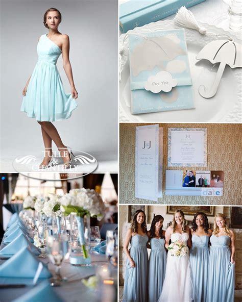 light blue wedding colors incorporating wedding color ideas schemes bridesmaid