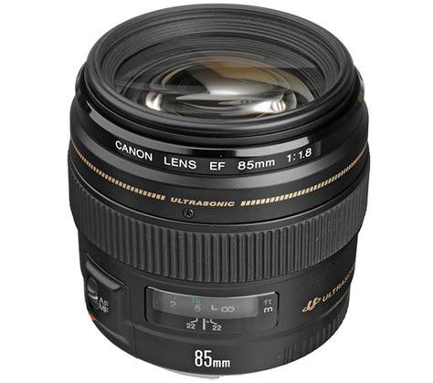 Lens Ef 85mm F 1 8 Usm by Canon Ef 85 Mm F 1 8 Usm Standard Prime Lens Deals Pc World