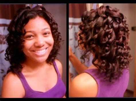 easy curling wand for permed hair wand curls on my relaxed hair jerome russell hair color