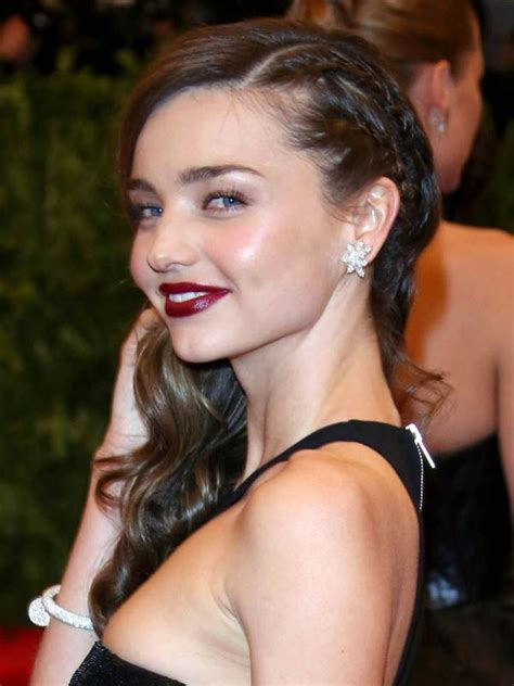 courtney kerrs waves with braids how to how to miranda kerr s glam waves with a punk rock twist